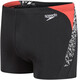 speedo Boom Splice Aquashorts Men Black/White/Lava Short